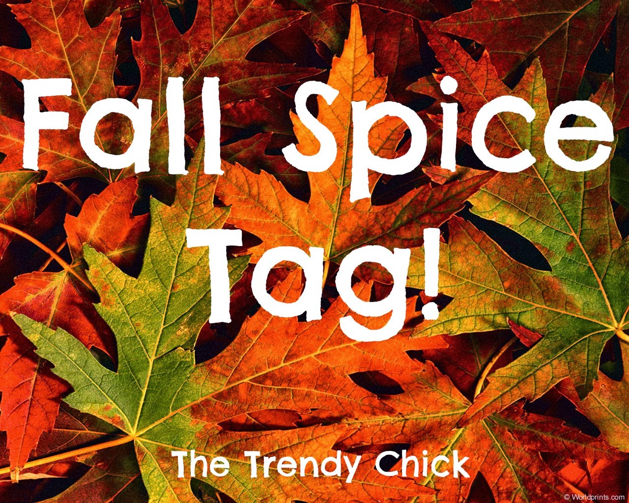 Fall Spice Tag