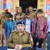 चोरी की सात बाइकों के साथ चार गिरफ्तार