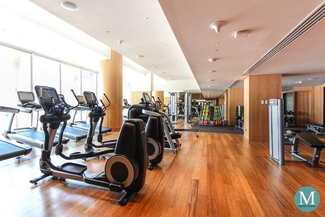 Fitness Center of Conrad Manila