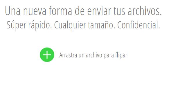 Compartir archivos de forma rápida, sencilla de un dispositivo a otro [Takeafile]