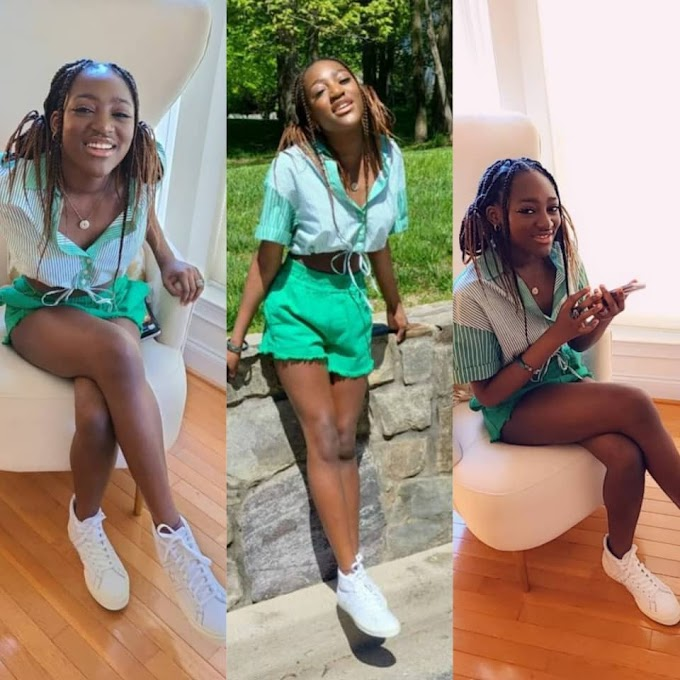 2face Idibia's babymama, Pero Adeniyi, celebrates their daughter, Ehi, as she turns 15