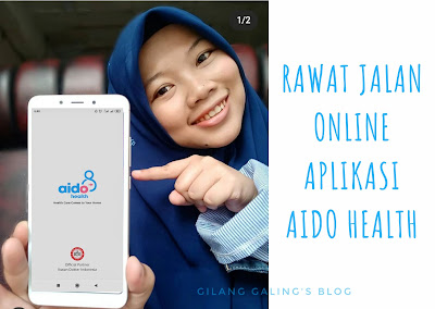 Rawat Jalan Online di aplikasi aido health ini memudahkan untuk konsultasi kesehatan secara daring