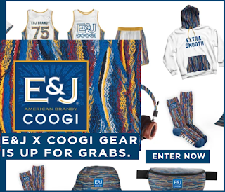 E&J Brandy and Coogie Clothing Giveaway - 75 Winners  Win