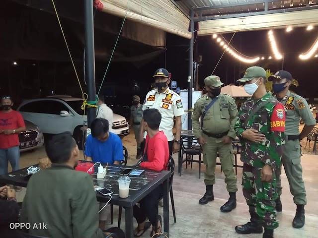 Razia Cafe dan Pengunjung Kota Idi, Hasil Sweb Antingen 1 Positif Covid