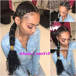 Butterfly braids Hairstyles are a Stylish ✘ 26+ Beautiful Butterfly Braid Hairstyle Ponytails To Copy In 2020