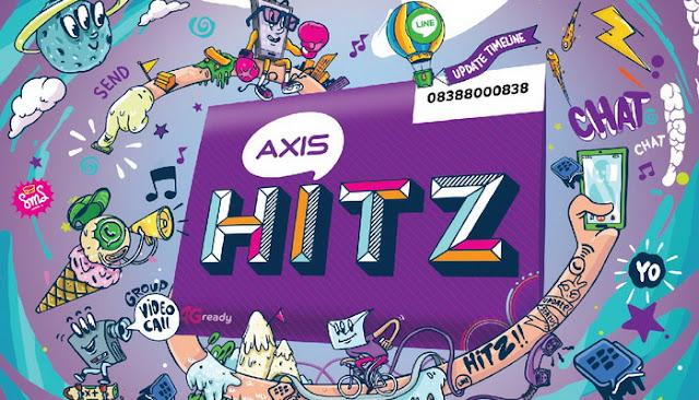 Dengan Axis Hitz Video Call Gratis