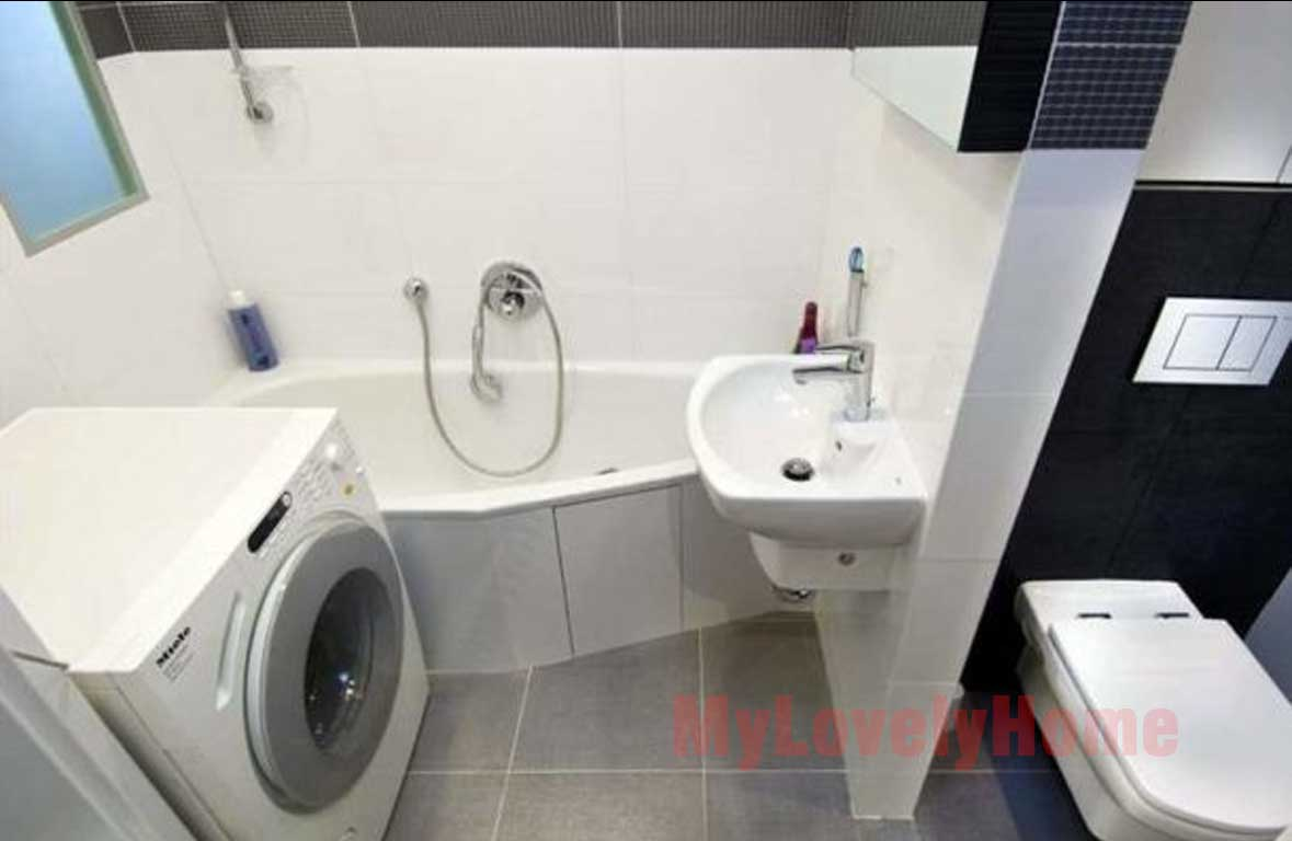 Washing Machine In Bathroom Installation Ideas My Lovely Home
