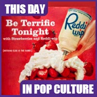 Aaron S. Lupin, inventor of Reddi-Wip passed away on July 10, 1999.