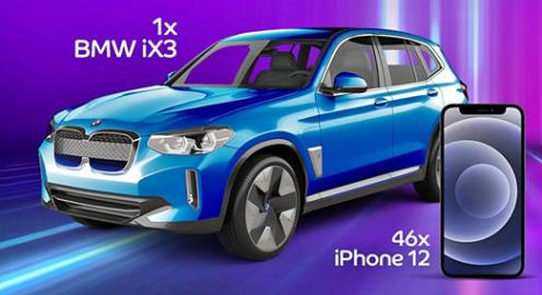 Concurs eMag Genius - Castiga o masina BMW iX3 sau 46 iPhone 12 - 2021 - castiga.net