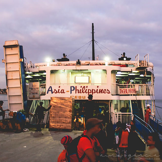 02.10.16 | Tagbilaran Port at Tagbilaran City, Bohol | Photo by Aine Garcia
