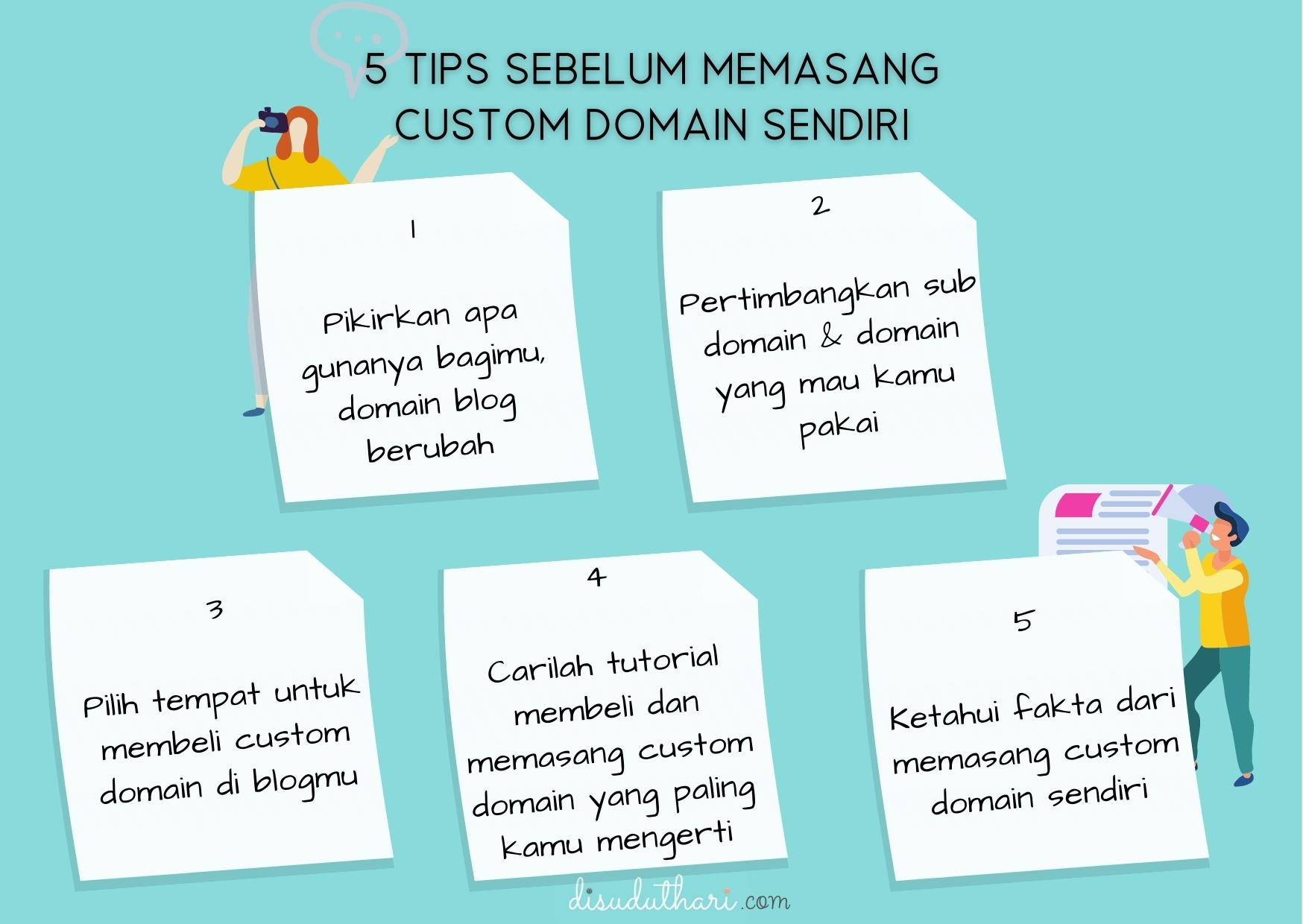 Tips Memasang Custom Domain Sendiri