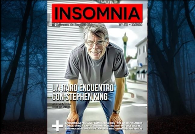 Conduzco a Christine en el nuevo número de la revista INSOMNIA