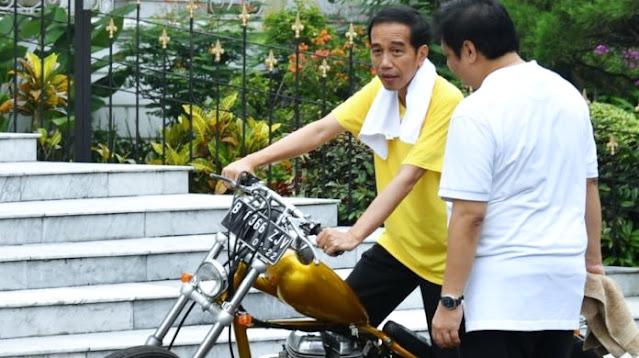 Istana Bantah Kabar Jokowi Kabur Hindari Pendemo