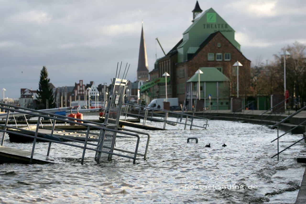 Hochwasser Rostock