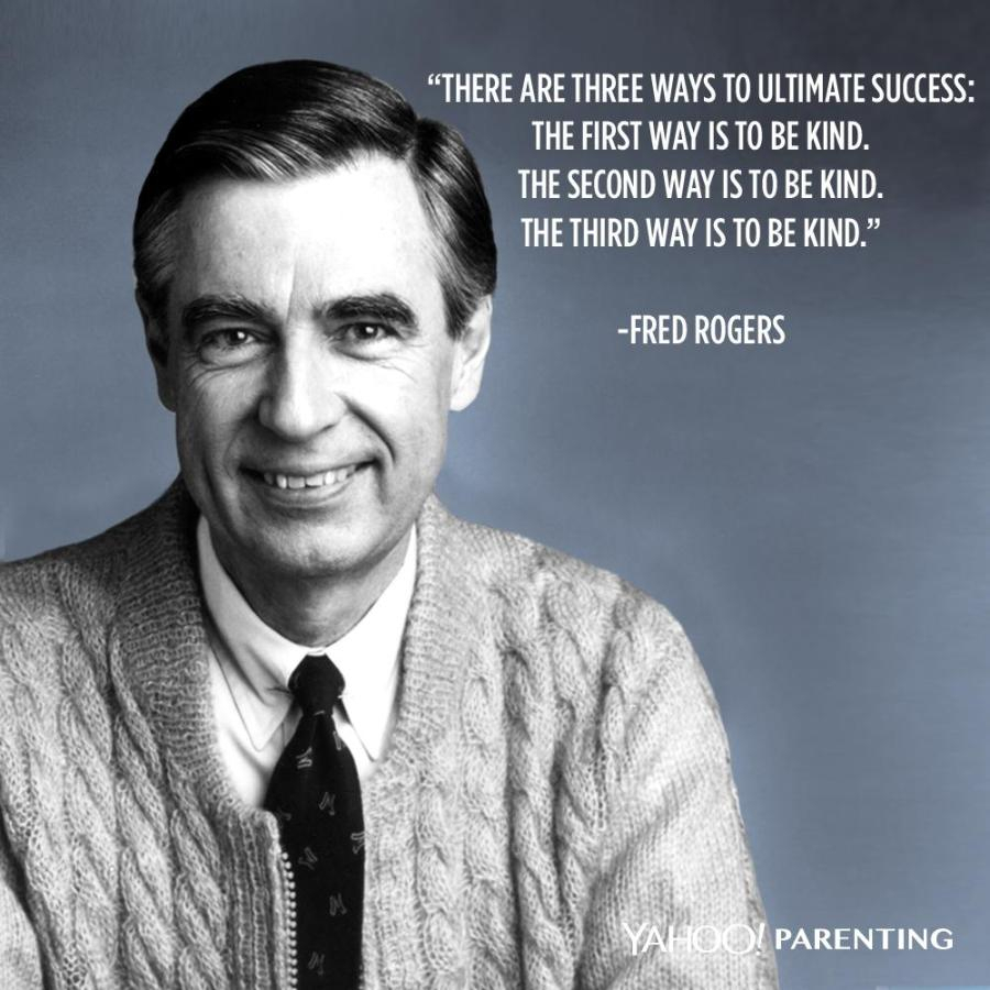 Lessons Learned From The Bunny Teacher Cardiganday Is Wednesday November 13 2019 Honoring Mr Rogers And World Kindness Day