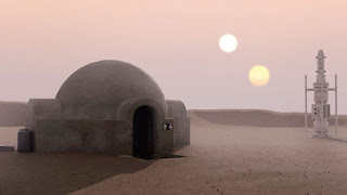 Science fiction: Two suns from one planet in Star Wars