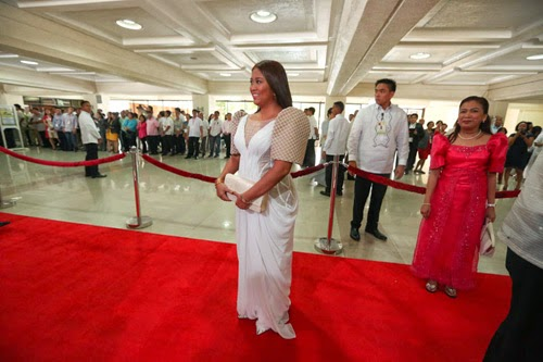 Nancy Binay outfit new SONA 2014