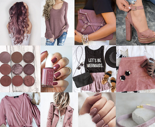 Forget RoseGold:Mauve Is THE Color This Season
