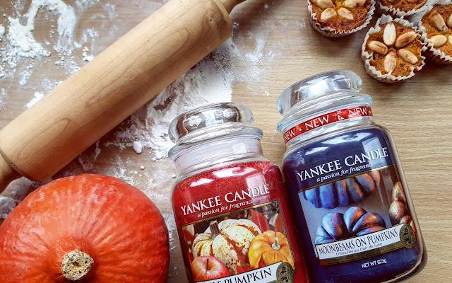 Dyniowy zawrót głowy! Yankee Candle Apple Pumpkin i Moonbeams On Pumpkins - Czytaj więcej »