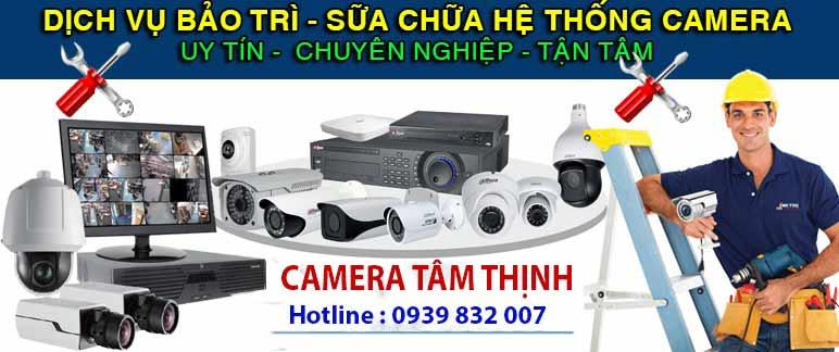 dịch vụ bảo trì camera tại bến tre