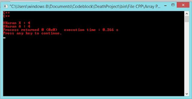 Gambar Output Program