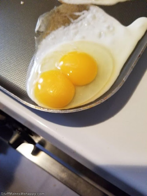 8. Two yolks in one - isn't it a miracle?