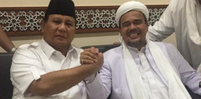 Habib Rizieq Pulang, Jubir Prabowo: Jangan Risih Dengan Rekonsiliasi
