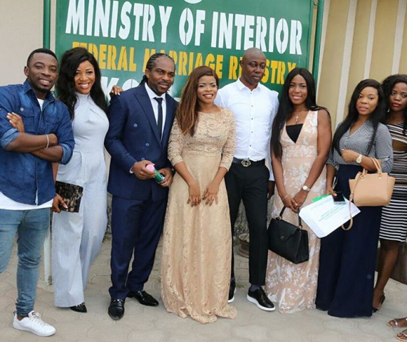 laura ikeji and ogobnna kanu wedding