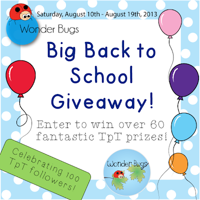 Back to School Giveaway! Saturday, August 10th