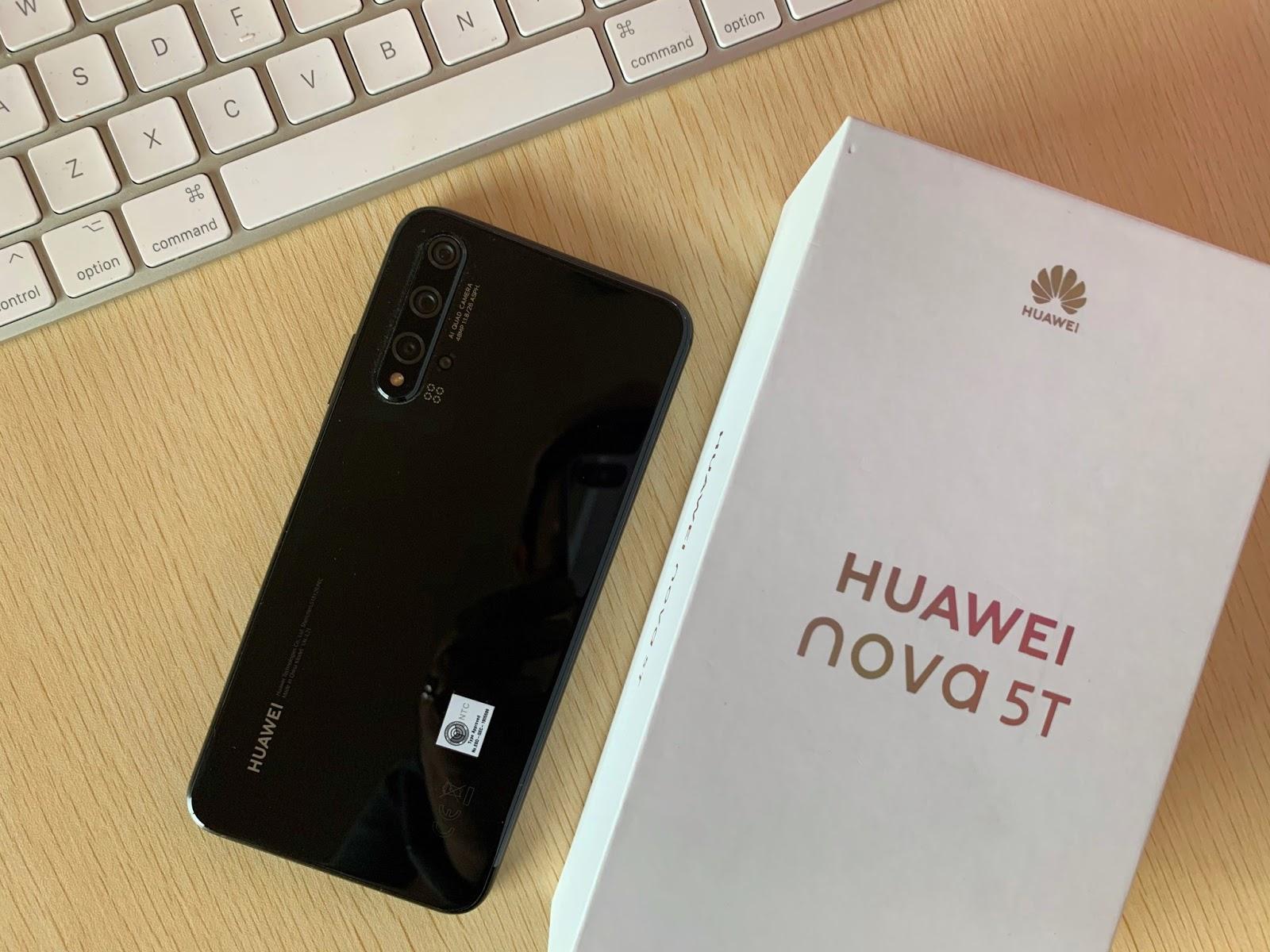 HUAWEI Nova 5T by Jexx Hinggo