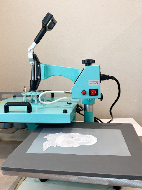 white toner printer, uninet icolor, printable materials, heat press, heat press pressure