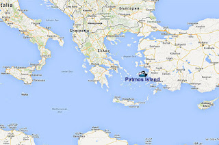 Map of Greece and Asia Minor