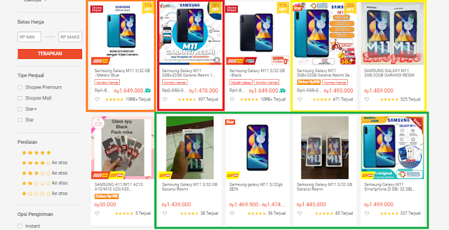 Beli Samsung M11 Shopee Harga Terbaik