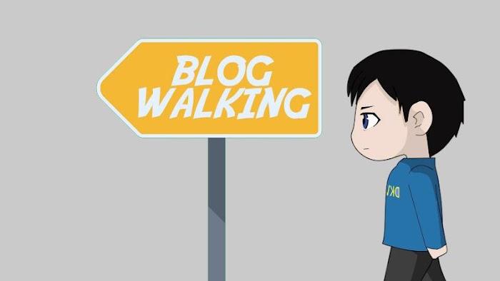 Blogwalking dengan Awan Vlog Gratis