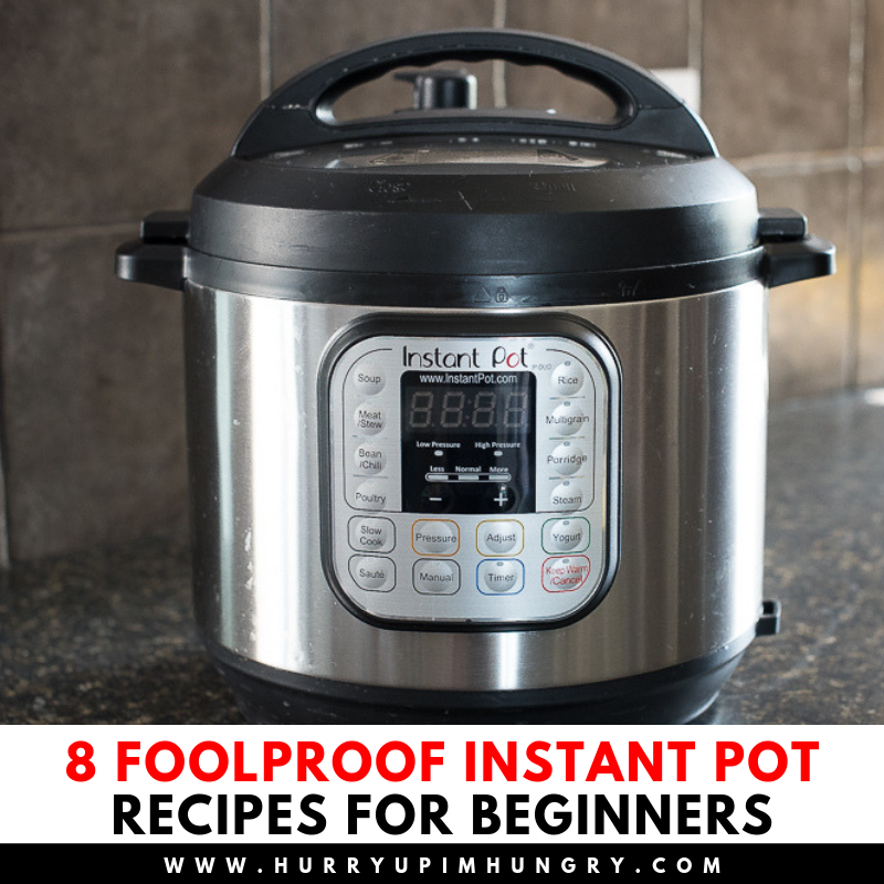 How to use my Instant Pot pressure cooker - easy beginner Instant Pot recipes to help you get started