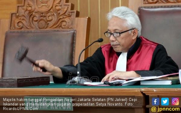 Hakim yang Menangkan Setya Novanto Sudah 4 Kali Dilaporkan