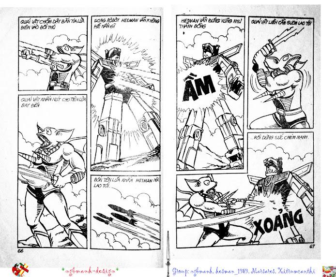 Dũng Sĩ Hesman tập 2 - hesman xuất hiện trang 35