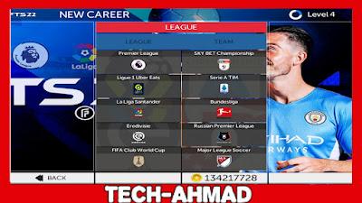 تحميل لعبة FTS 2022 للاندرويد مهكرة مع اخر الانتقالات والاطقم برابط مباشر من ميديا فاير