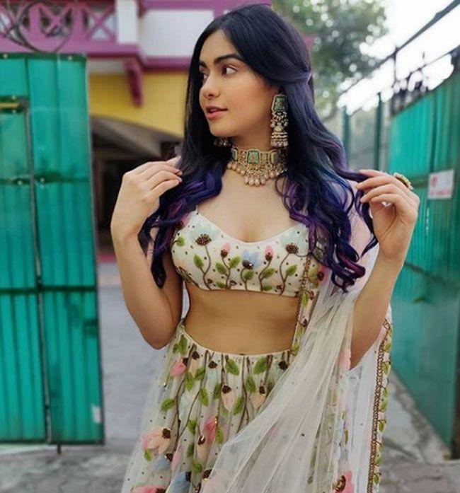 Actors Gallery: Adah Sharma Latest Photos