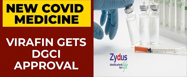 Zydus Virfin has been approved in India to treat Covid 19