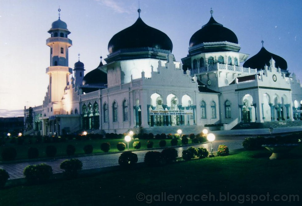 Masjid Raya Baiturrahman Gallery Aceh