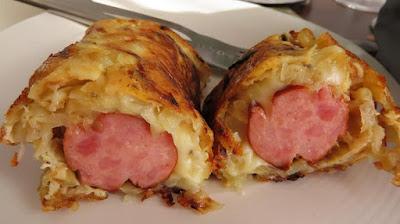 Gurmanski Omlet s Kobasicom 🔹 Gourmet Omelette with Sausage
