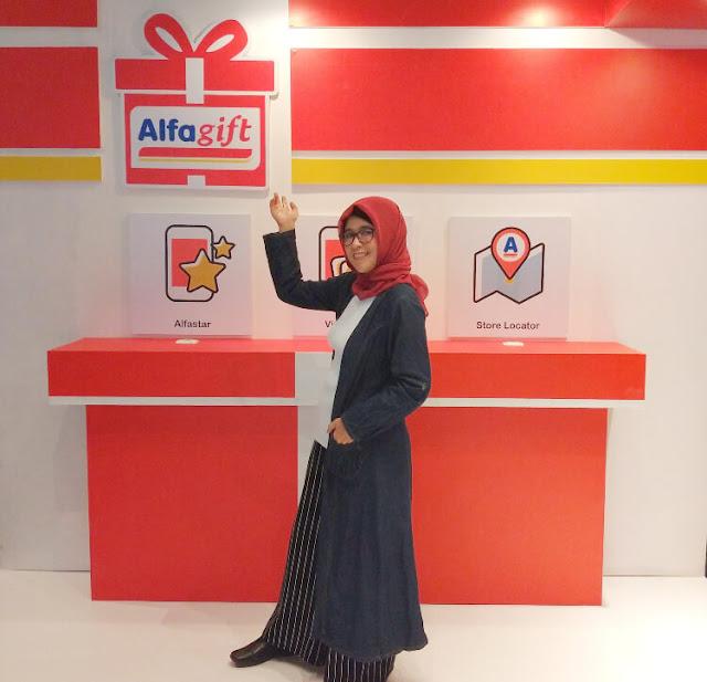 peluncuran aplikasi alfagift 4.0 dari alfamart