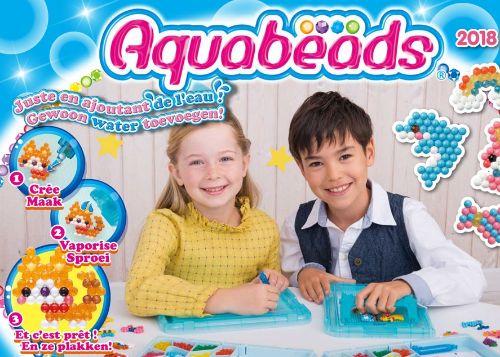 Aquabeads, strijkkralen met water ipv hitte