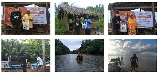 Perjalanan Panjang Kirim Hewan Kurban ke Pelosok Halmahera