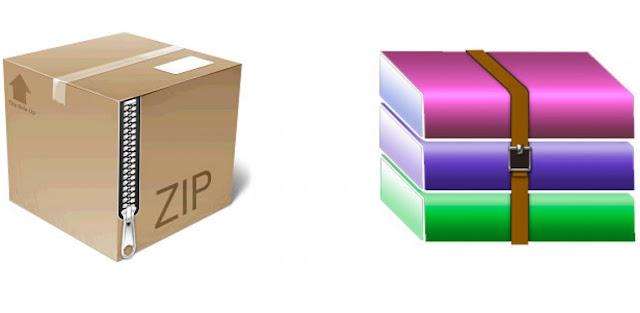 Antara Zip dan RAR, Lebih Baik Yang Mana?