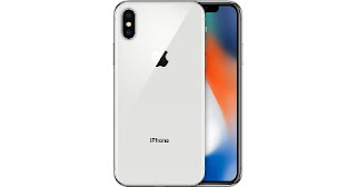 Iphone X Silver View