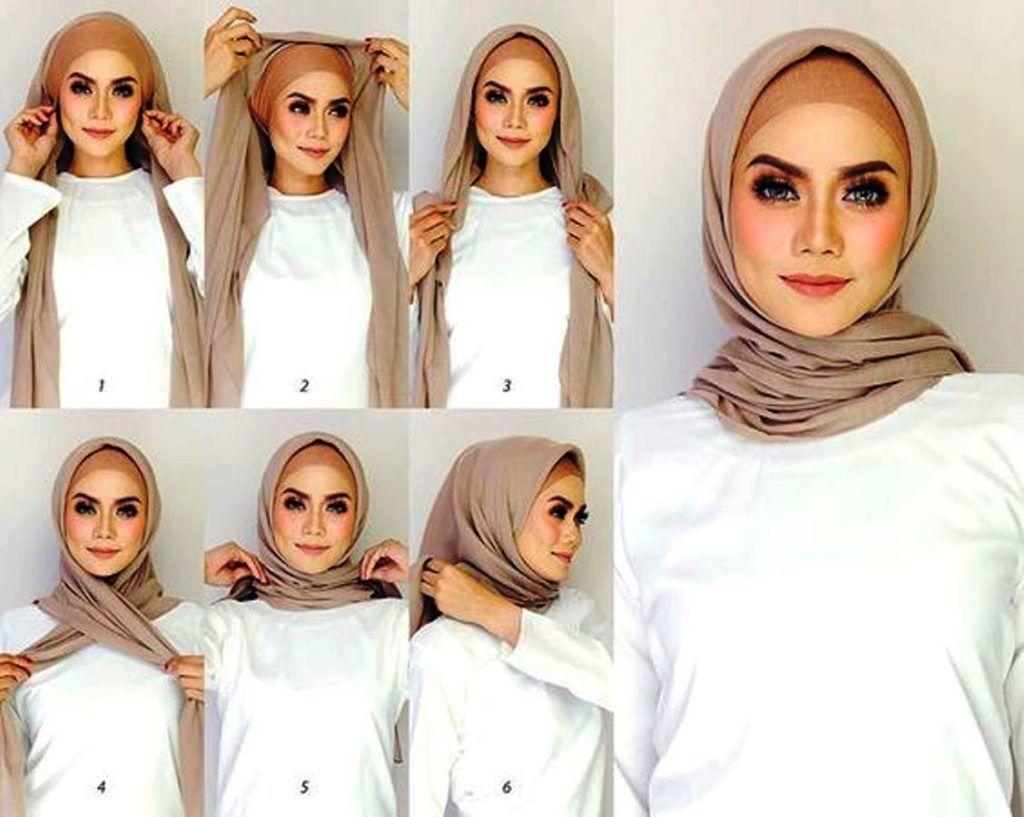 Video Hijab Tutorial Segi Empat Terbaru