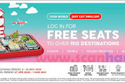 Promo Air Asia BIG SALE Periode Terbang 27 April 2020 - 1 Maret 2021