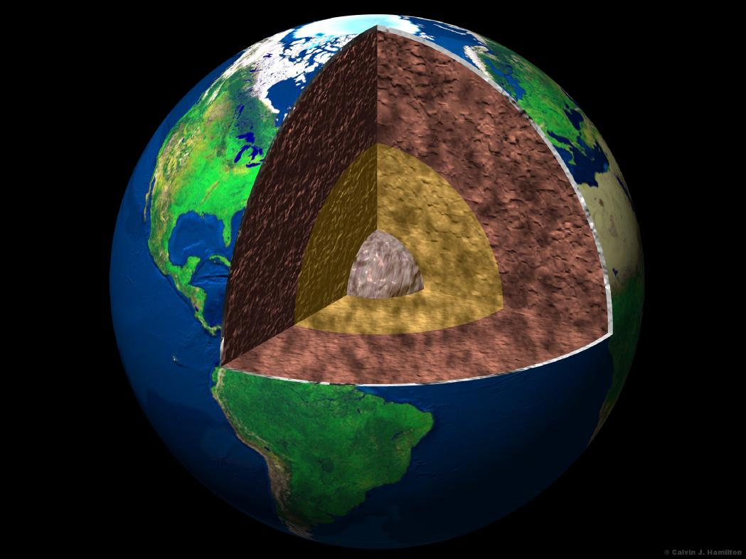 Ancient Earth Crust Stored In Deep Mantle